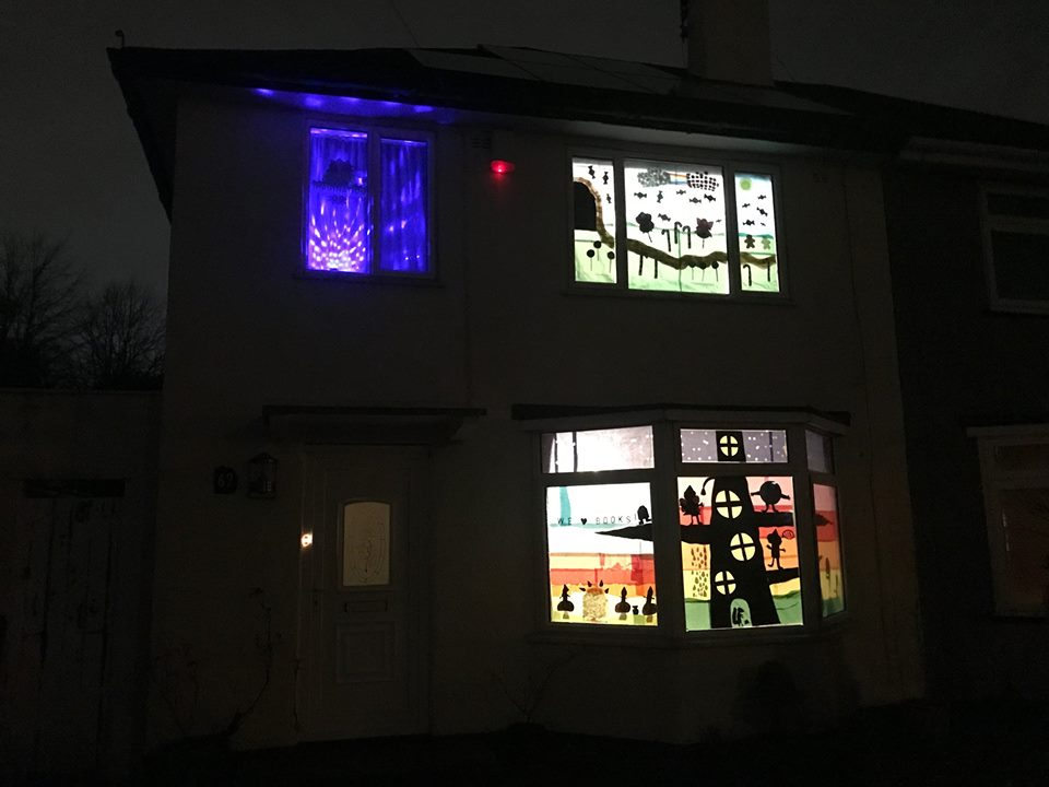 Manor Farm sparkles with Window Wanderland