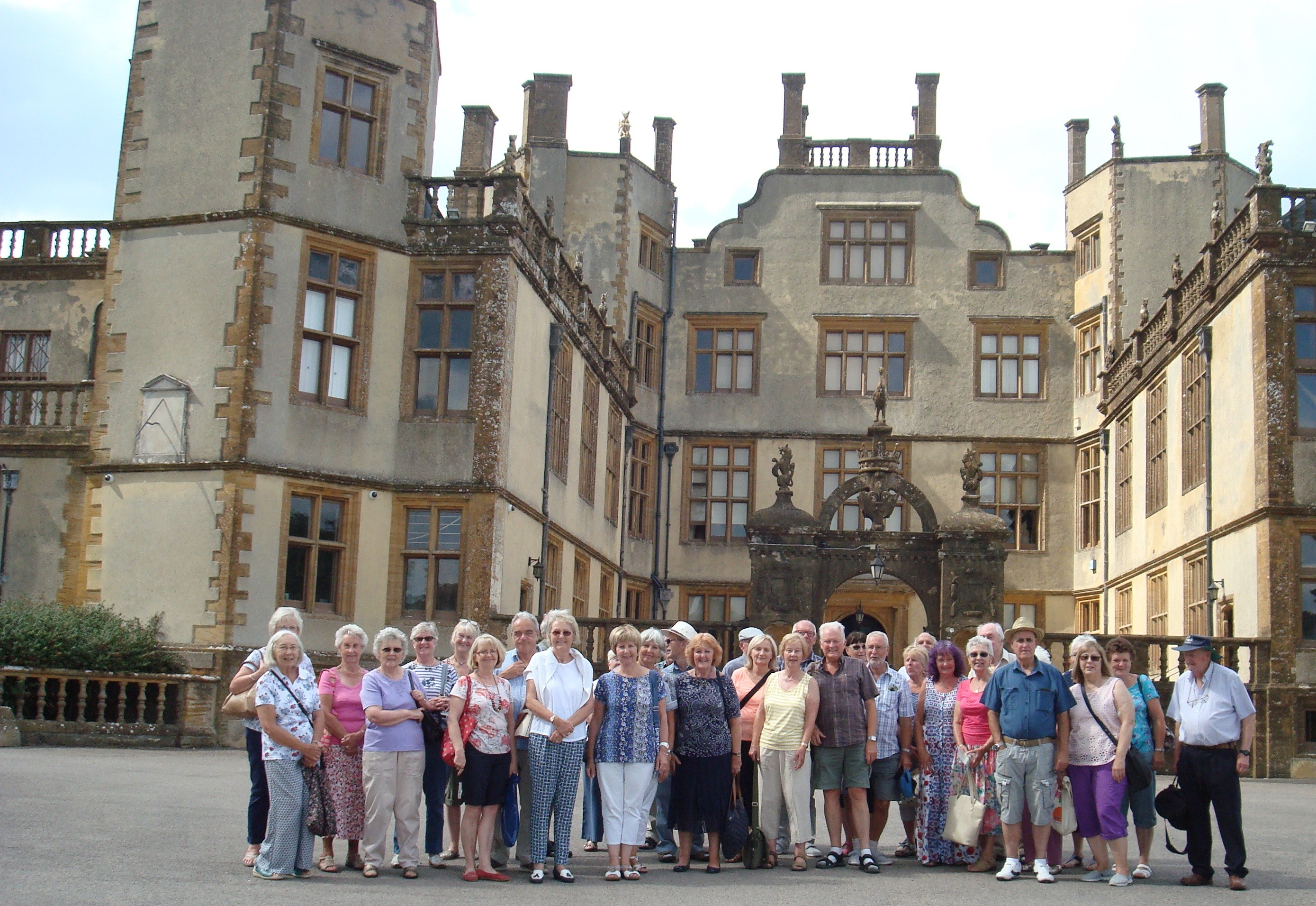 Gardeners enjoy castle day out
