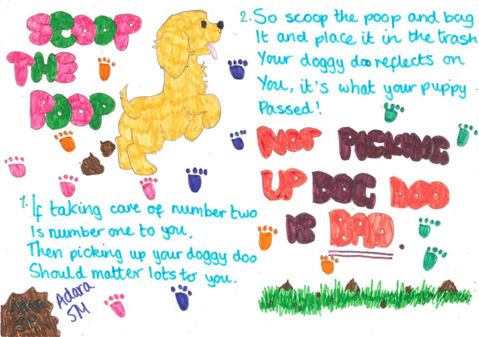 Pick-up-poo posters set to make a difference