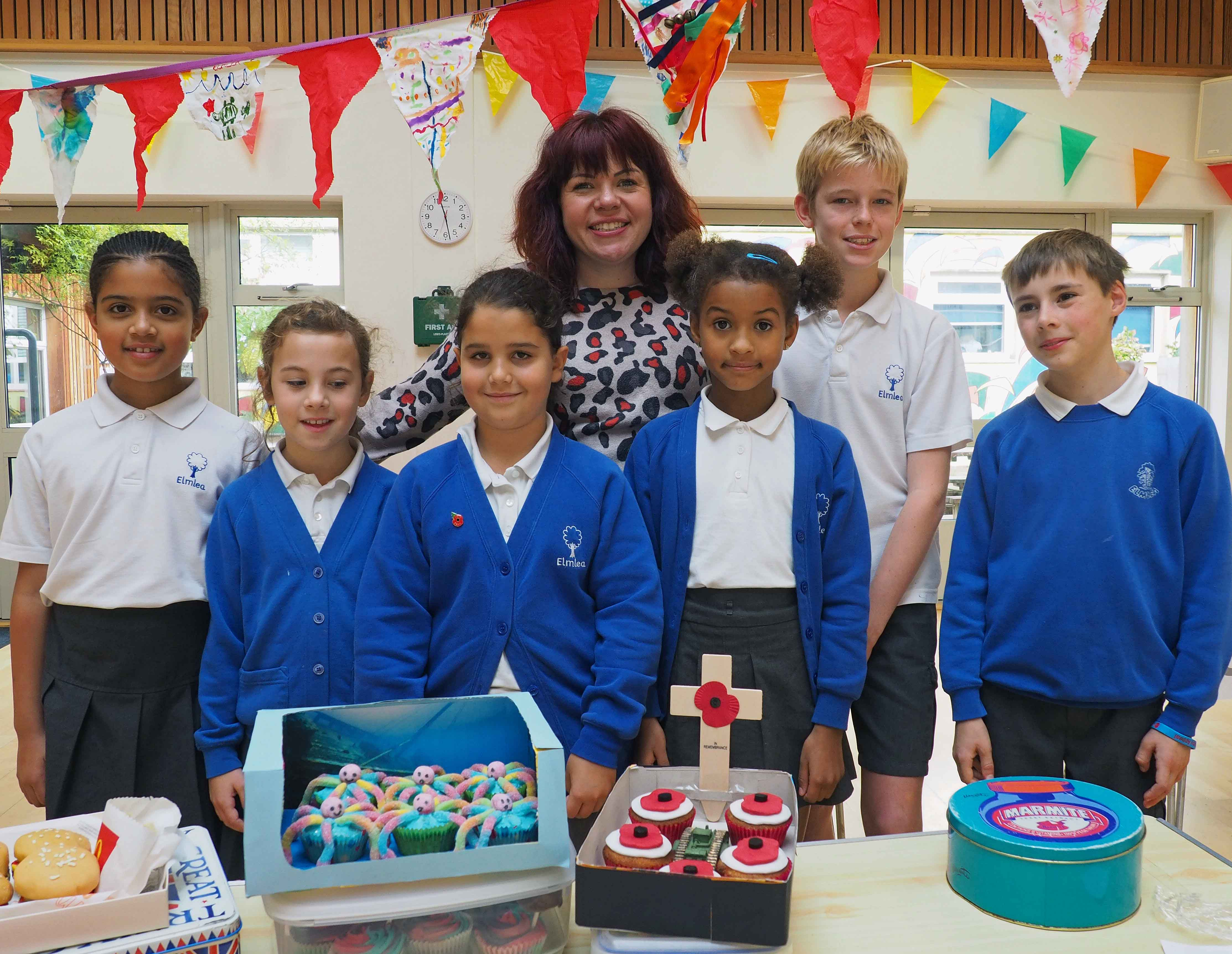 Bake-Off's Briony goes back to school