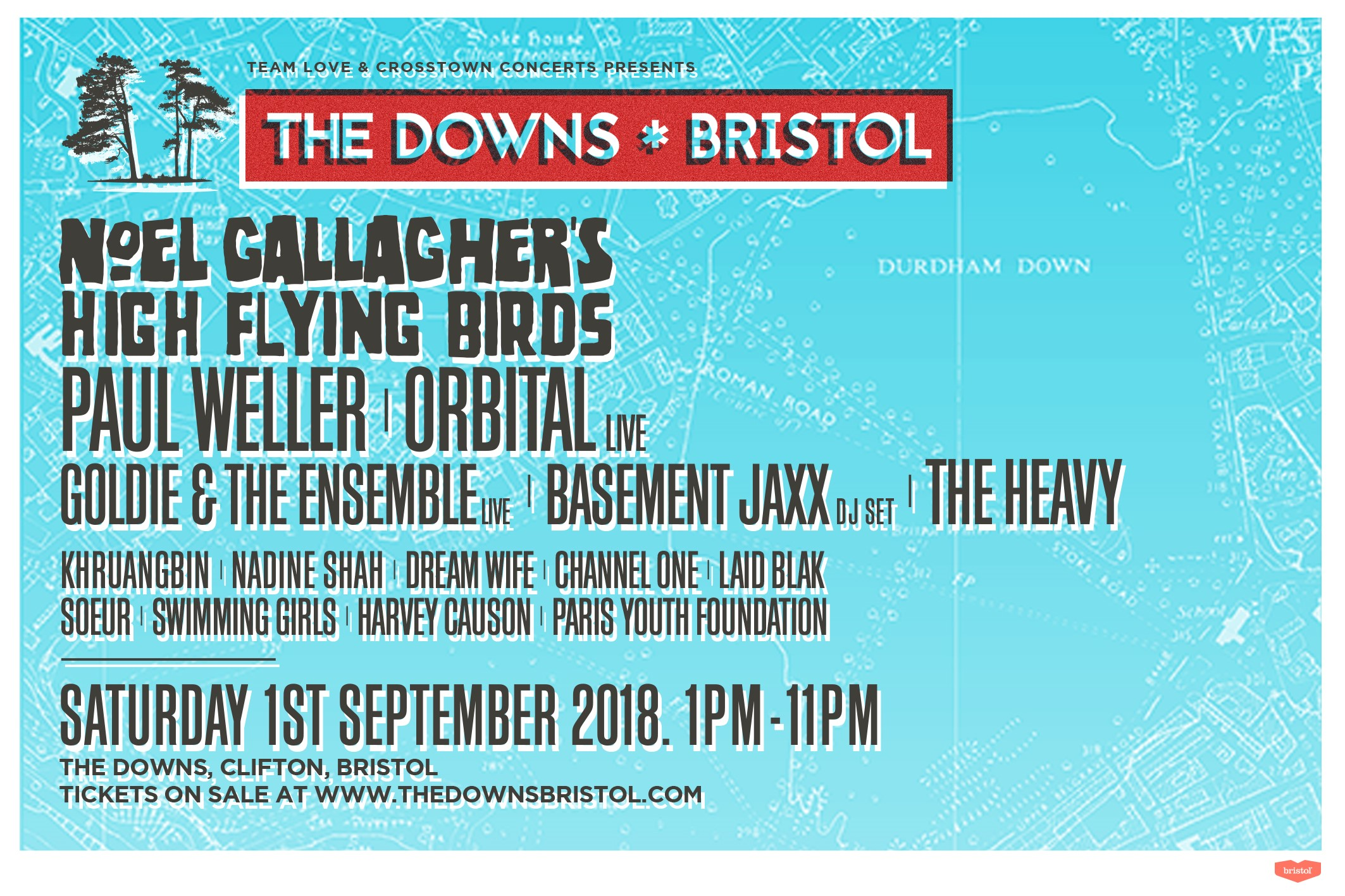 Win two tickets to The Downs Bristol!