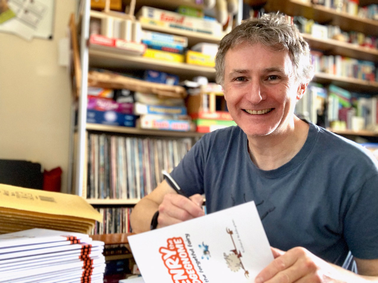 Former Horfield CofE School pupil publishes his sixth book