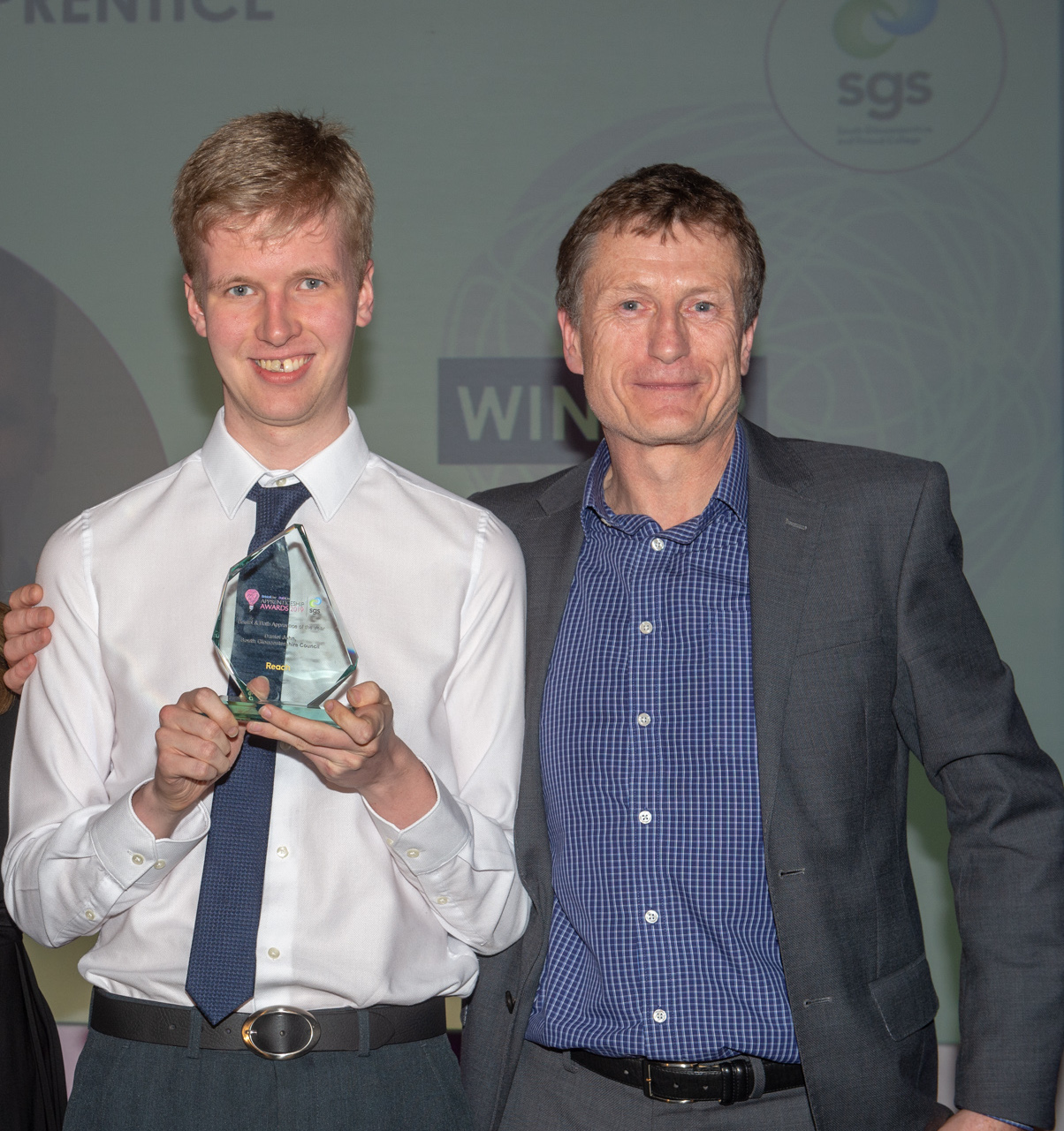 Exceptional SGS student wins Apprentice of the Year
