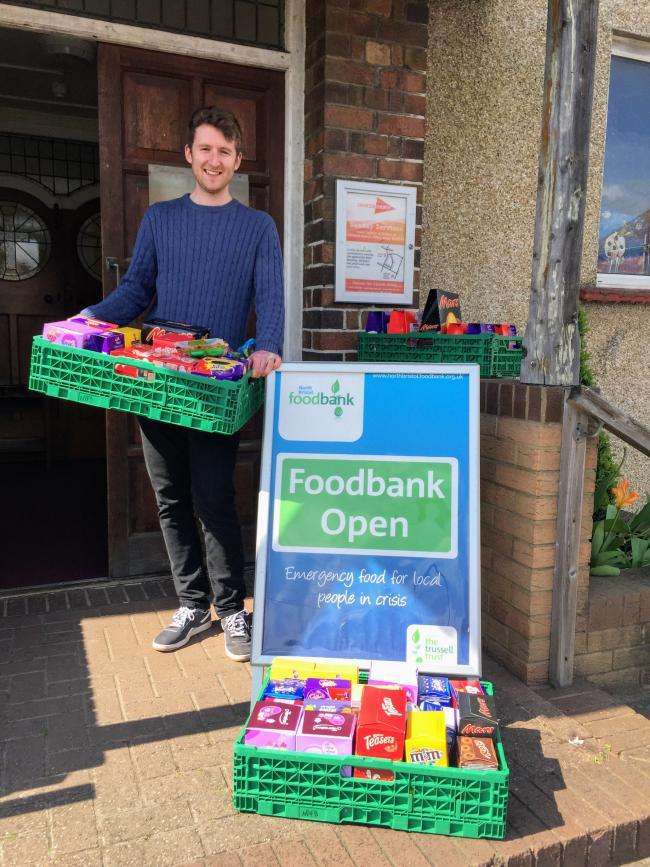 Deep concern over rise in Foodbank use
