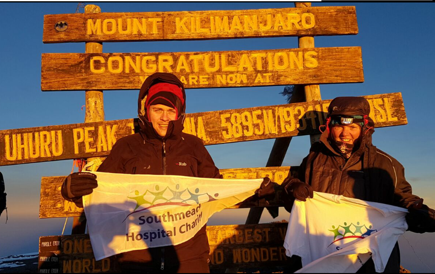 Lockleaze family climb Kilimanjaro for charity