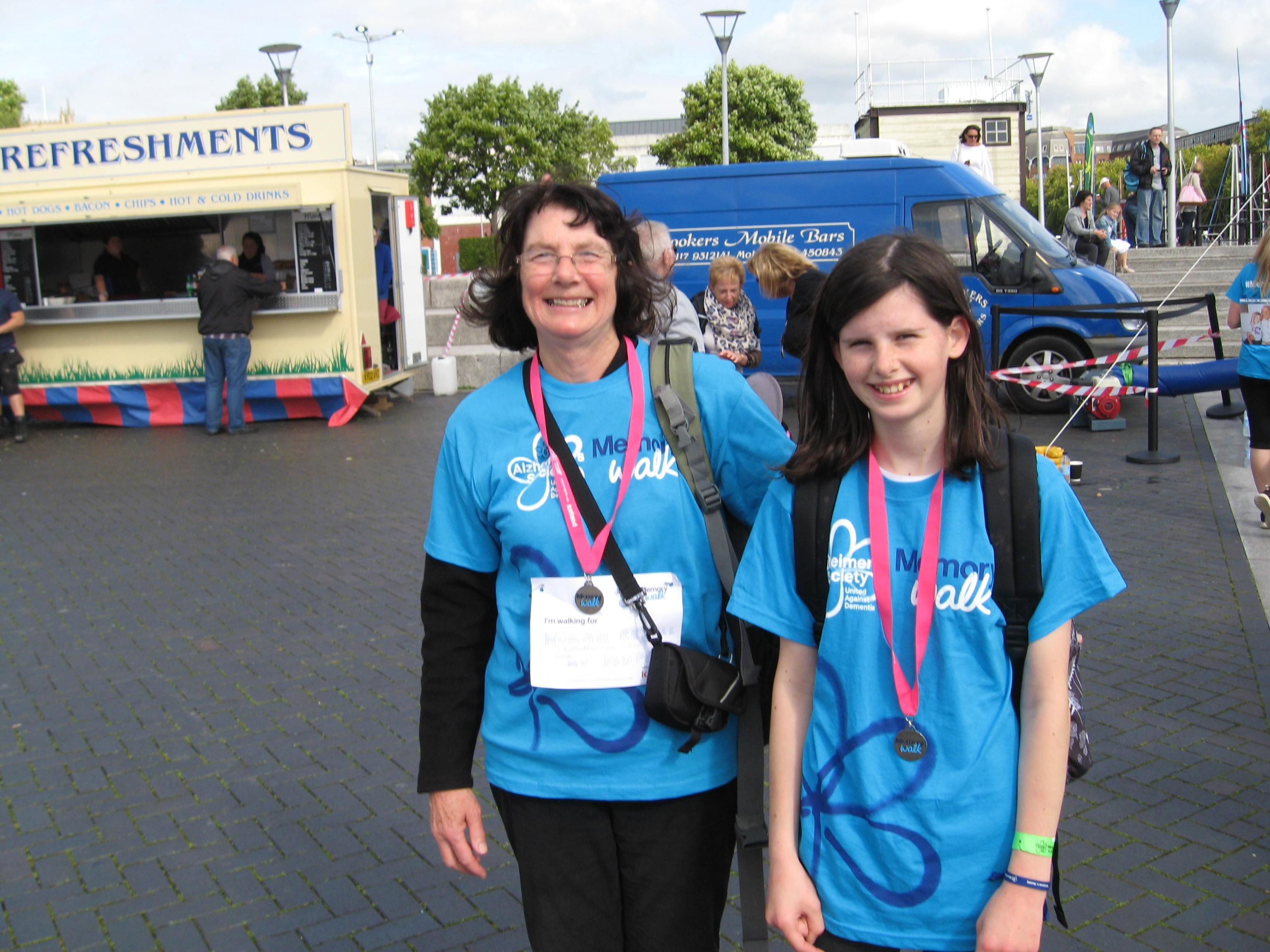 Dementia walk helps to raise awareness