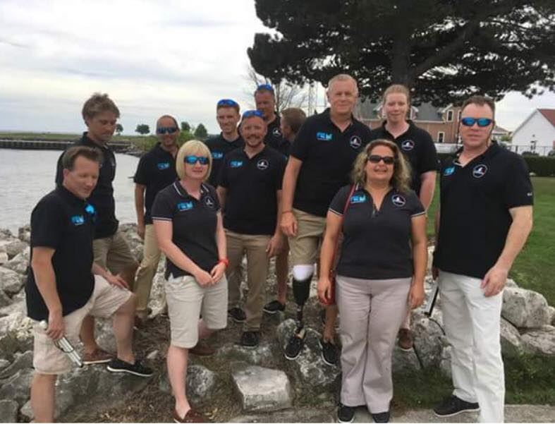 Sally's world champion performance in blind sailing