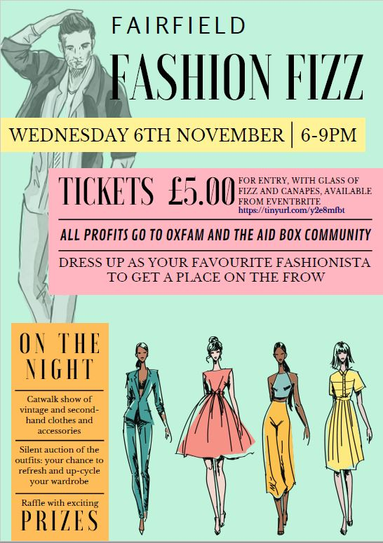 Fairfield presents Fashion Fizz