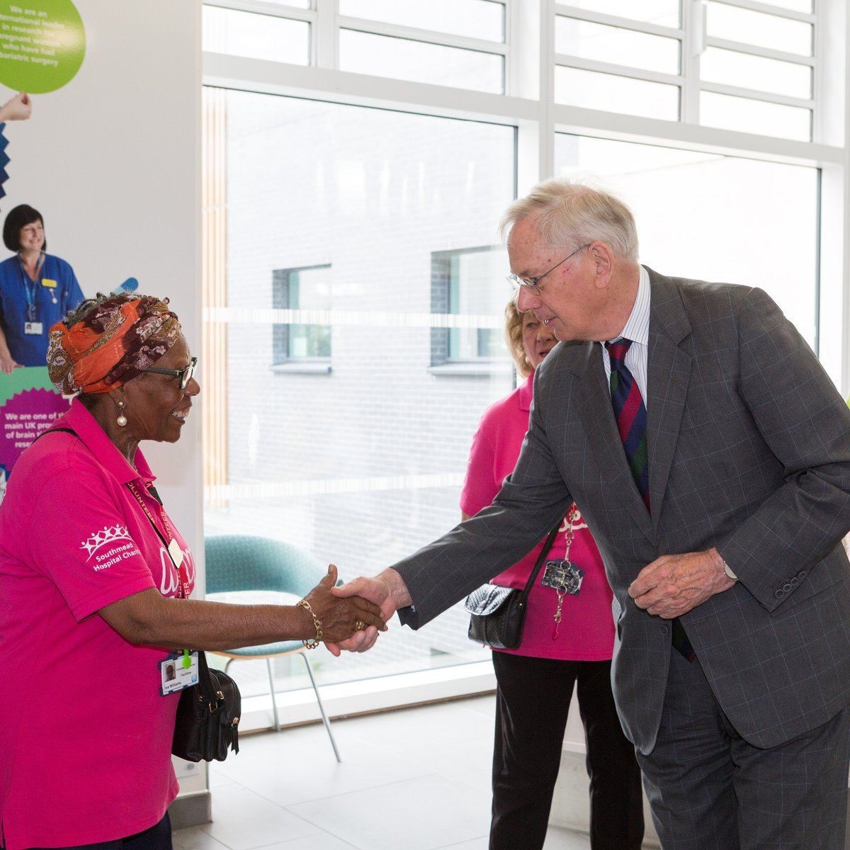 Southmead Hospital welcomes the Duke of Gloucester to meet the Move Makers