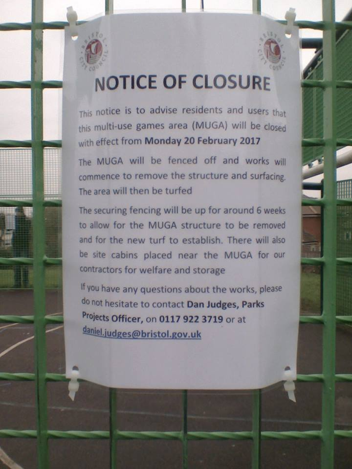 Public meeting to discuss MUGA