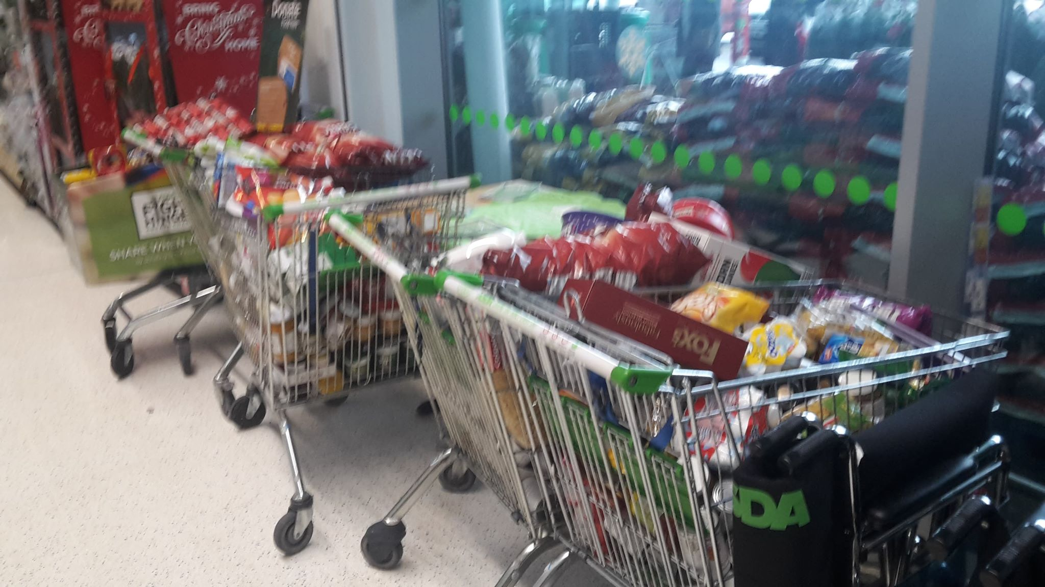 Asda blown away by the generosity of the Travellers community