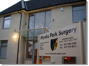 Monks Park Doctors Surgery's monthly column - January 2019